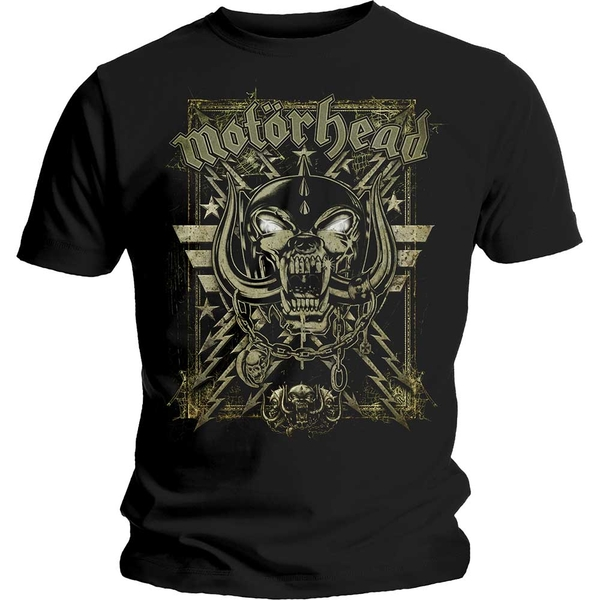 Motorhead - Spider Webbed War Pig Unisex Medium T-Shirt - Black