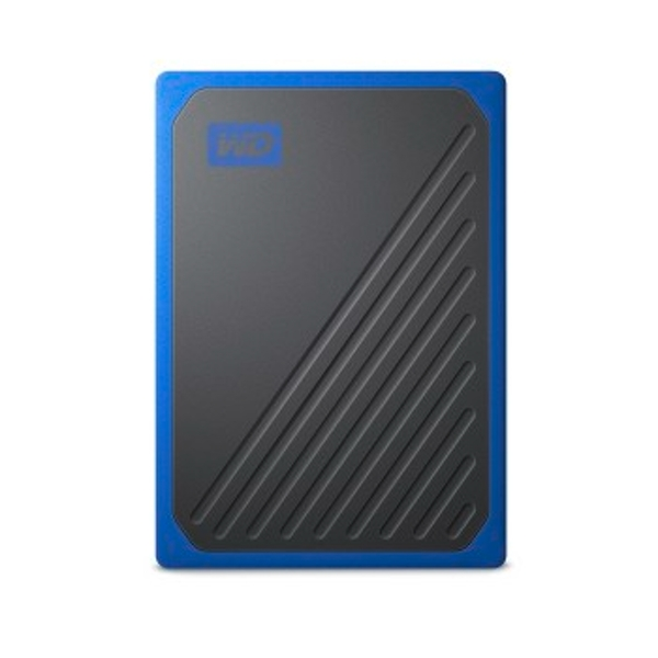 WD 500 GB My Passport Go Portable SSD - Cobalt Trim