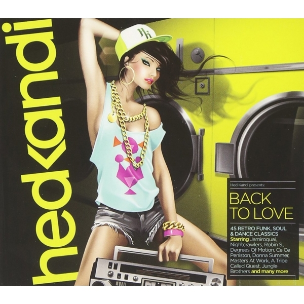 Various Artists -Hed Kandi - Back to Love CD