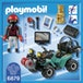 Playmobil City Action Robber's Quad with Loot with Pullback Motor - Image 2
