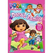 Dora The Explorer - Dora's Family Collection DVD