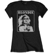 Blondie - Presente Poster Women's Medium T-Shirt - Black