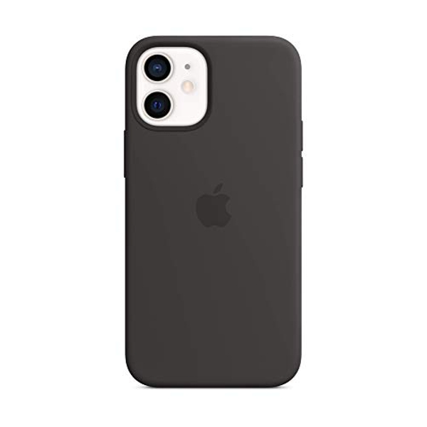 Apple Silicone Case with MagSafe (for iPhone 12 mini) - Black