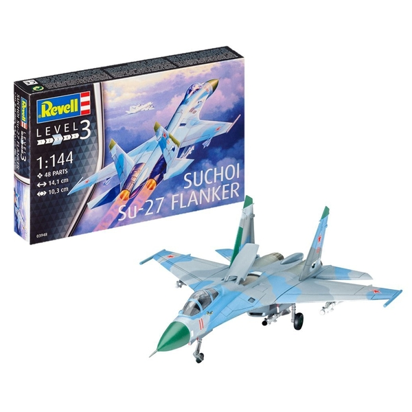 Suchoi Su-27 Flanker 1:144 Revell Model Kit