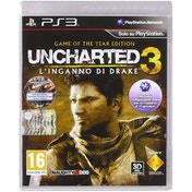 Uncharted 3 Drakes Deception Game Of The Year (GOTY Italian Cover) Edition PS3