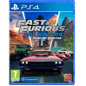 Fast & Furious Spy Racers Rise of SH1FT3R PS4 Game