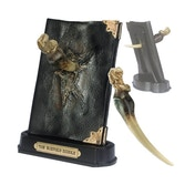 Basilisk Fang and Tom Riddle Diary Sculpture (Harry Potter) Noble Collection Replica