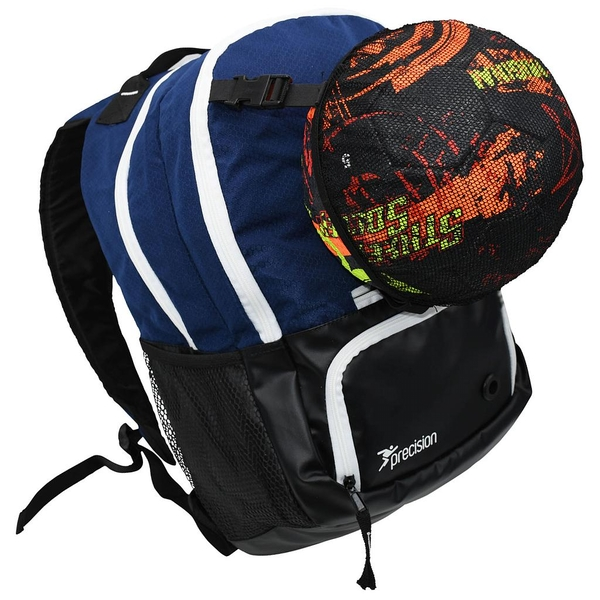 Precision Pro HX Back Pack with Ball Holder - Navy/White