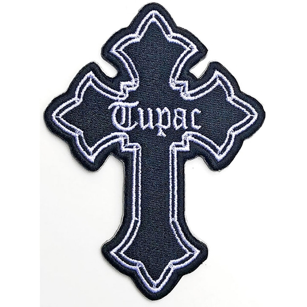 Tupac - Cross Standard Patch