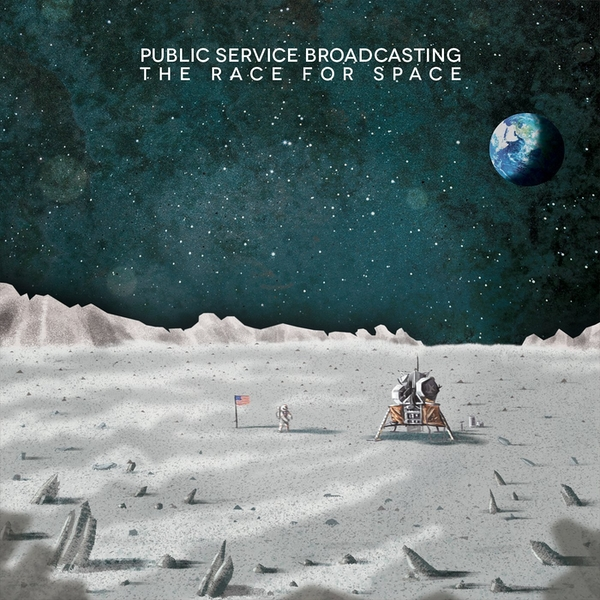 Public Service Broadcasting - The Race For Space Vinyl