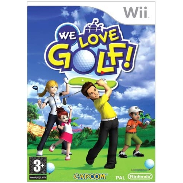 We Love Golf Game Wii [Used]