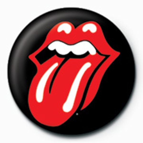 Rolling Stones - Lips Badge