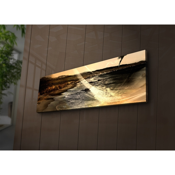 3090?ACT-64 Multicolor Decorative Led Lighted Canvas Painting
