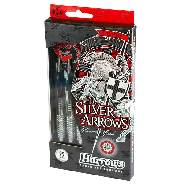 Harrows Silver Arrow Darts - 24g