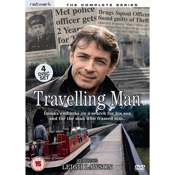 Travelling Man - The Complete Series DVD 4-Disc Set