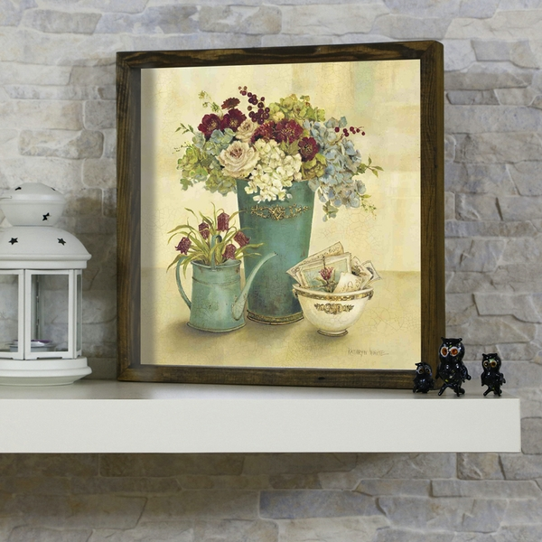 KZM446 Multicolor Decorative Framed MDF Painting