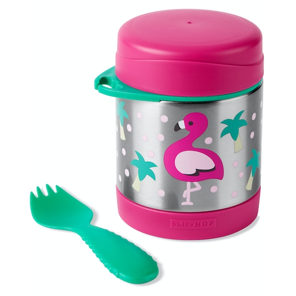 Skip-Hop Stainless Steel Flamingo Food Jar