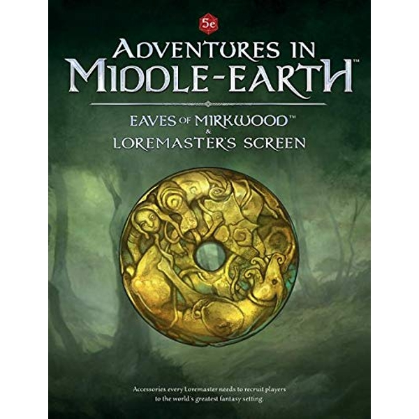Adventures in Middle-Earth - Eaves of Mirkwood and Loremaster's Screen