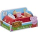 Peppa Pig Wooden Red Car - Image 2