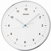 Seiko QXA634S Sweep Second Wall Clock Silver