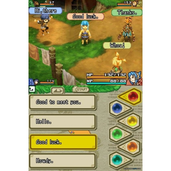 Final Fantasy Crystal Chronicles Echoes Of Time Game DS (#) - Image 2