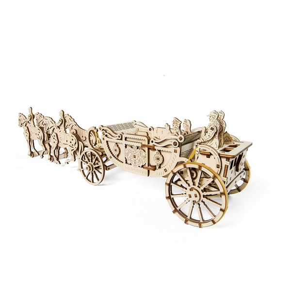 Royal Carriage UGears 3D Wooden Model Kit