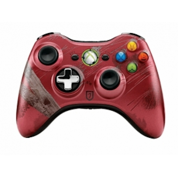 Official Tomb Raider Red Limited Edition Wireless Controller Xbox 360 - Image 2