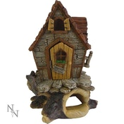 Treetop Cottage Fairy Ornament