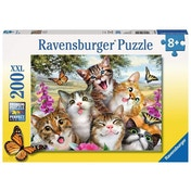 Ravensburger Friendly Felines Cats XXL 200 Piece Jigsaw Puzzle
