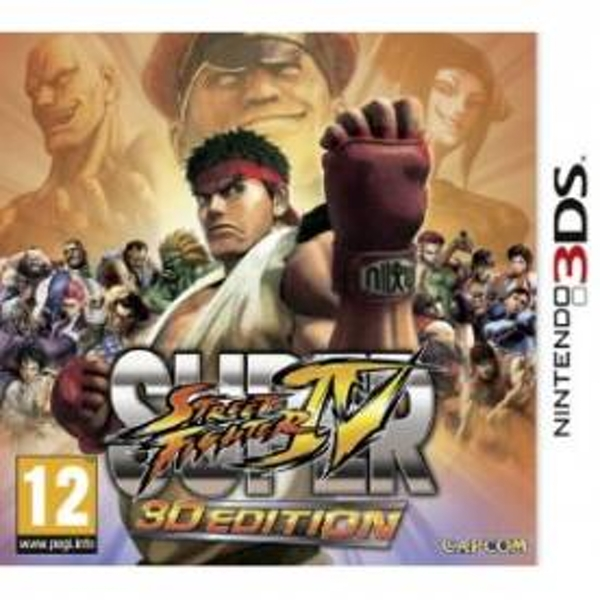 Super Street Fighter IV in 3D Game 3DS