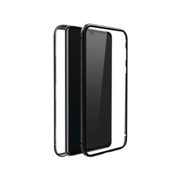 Black Rock 360 Glass Case for Huawei P30 Pro (Transparent with Black Frame)