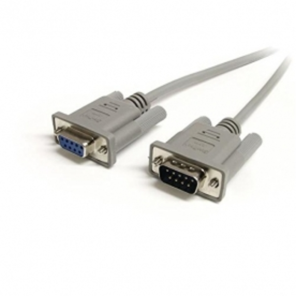 10 ft Straight Through Serial Cable - M/F