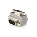 Right Angle VGA to VGA Cable Adapter Type 1 - M/F