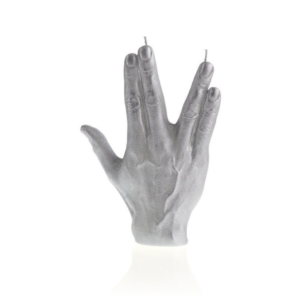 Silver Hand SPCK Candle