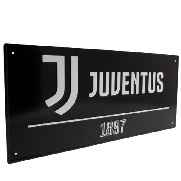 Juventus FC Black Street Sign