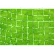 Precision Football Goal Nets 2.5mm Knotted (Pair) 12' x 6' White