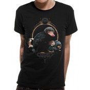 Crimes Of Grindelwald - Nifflers Men's Large T-Shirt - Black