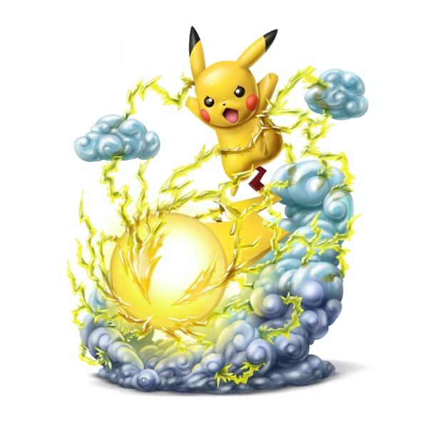 Pikachu (Pokemon) Deluxe Collectors 1/10 Scale Light FX Figurine
