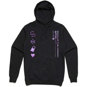 Bring Me The Horizon - Amo Symbols Men's Small Pullover Hoodie - Black