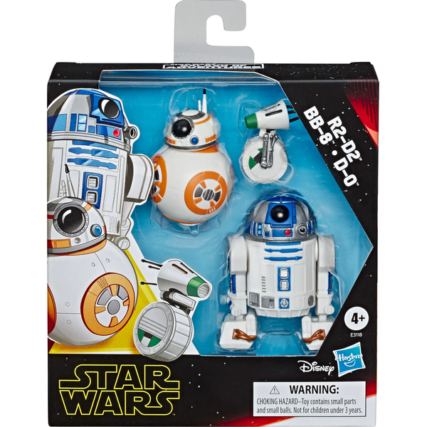 Droid 3 Pack (Star Wars) Galaxy Of Adventures Figure Set