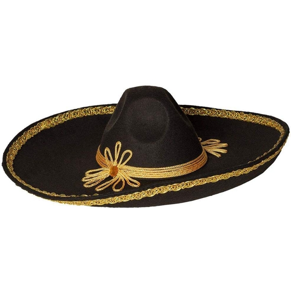 Sombrero Hat One Size Fancy Dress Accessory