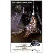Star Wars A New Hope One Sheet A Maxi Poster
