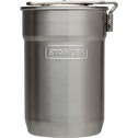 Stanley Stainless Steel Flask Adventure Camp Cook Set 0.71 Litre