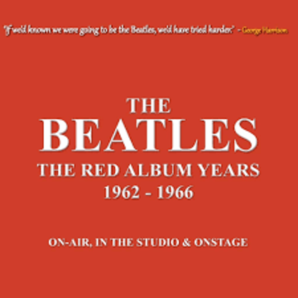 The Beatles – The Red Album Years 1962-1966 - On-Air In The Studio & Onstage Cassette