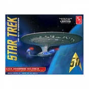 Star Trek USS Enterprise 1701-D 1:1400 Clear Edition Model Kit
