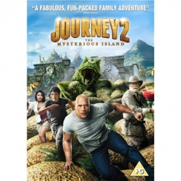 Journey 2 The Mysterious Island DVD