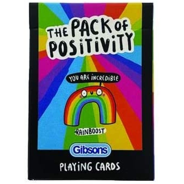 The Pack of Positivity Playing Cards