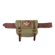 Nintendo Zelda Belt with Satchel and Triforce Logo