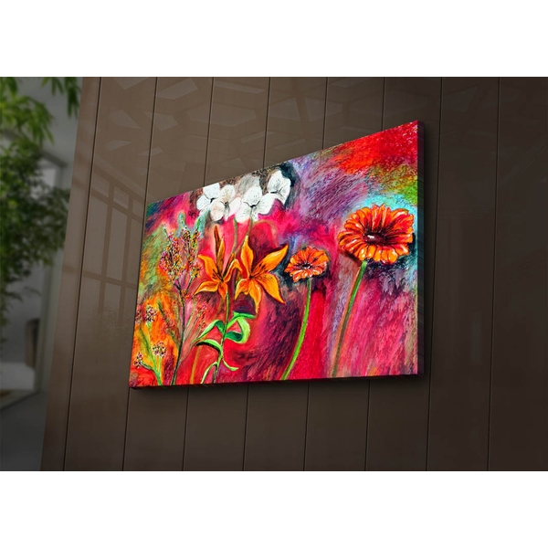 4570?ACT-51 Multicolor Decorative Led Lighted Canvas Painting