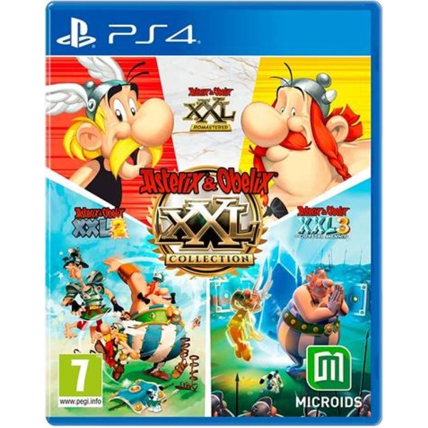 Asterix & Obelix XXL Collection PS4 Game